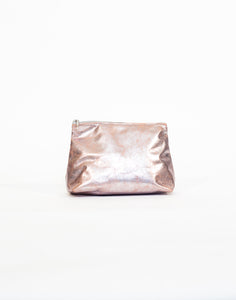 Pink Metallic Cosmetic Case