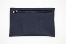 Load image into Gallery viewer, Navy Clutch Wallet
