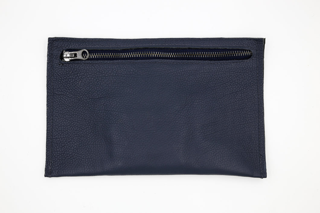 Navy Clutch Wallet