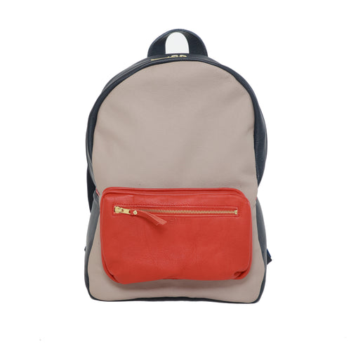 The Rob Tri-Color Backpack