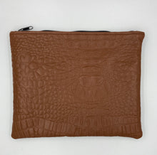 Load image into Gallery viewer, Everyday Croc Tan & Black Pouch
