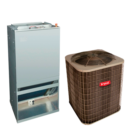 Sistema Heat Pump Bryant 2.5 Ton R410 14 Seer Front Return