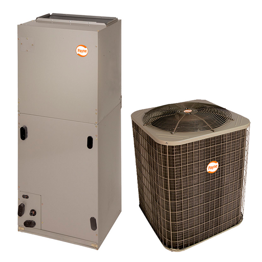Sistema Straight Cool Payne by Carrier 5 Ton R410 14,5 Seer