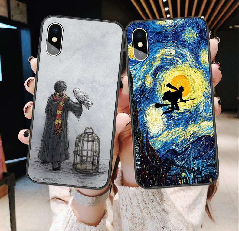 Harry Potter Luxury Case For iphone 7 8 Plus X XS MAX XR