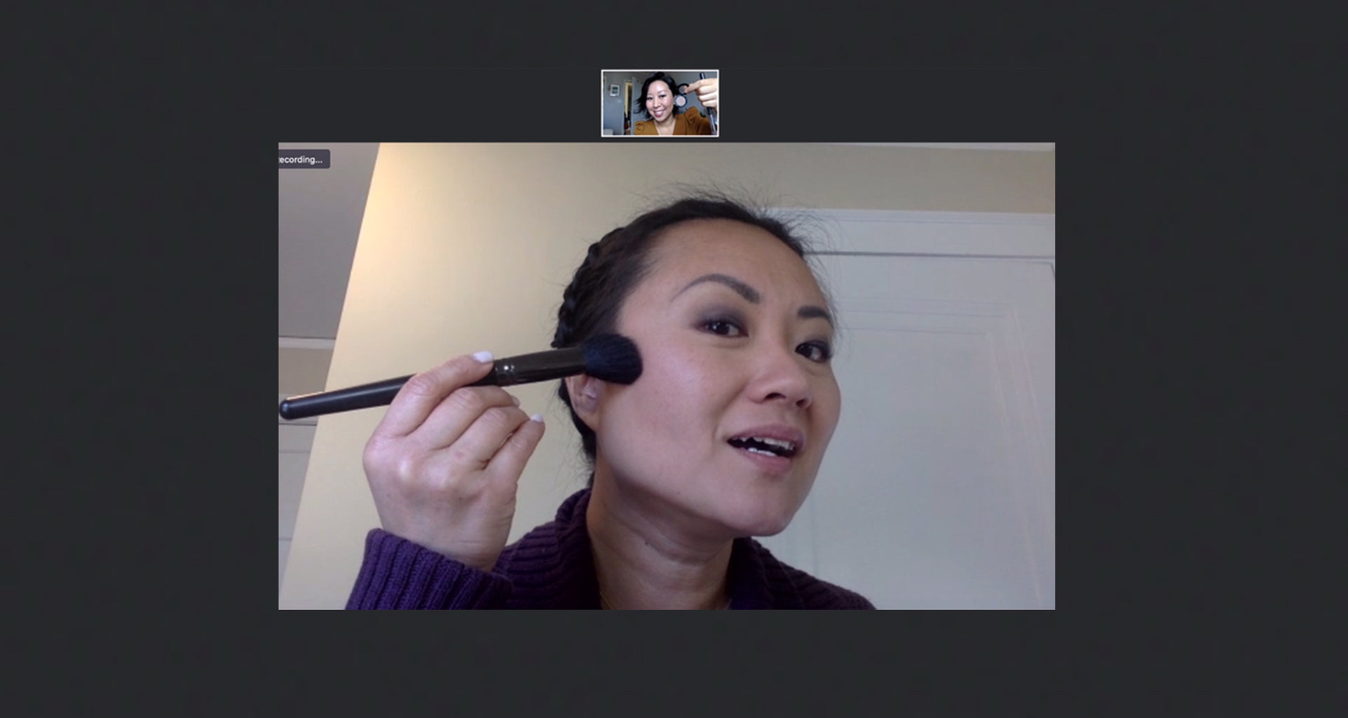 Virtual Makeup Lesson