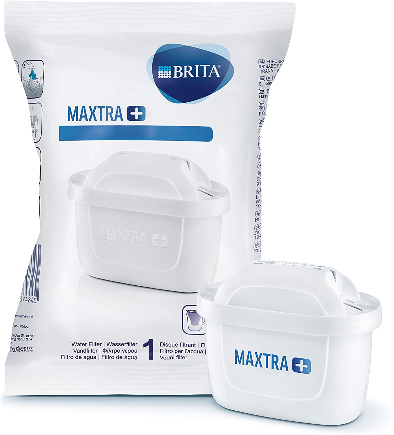 BRITA MAXTRA+ water filter cartridges - 1 pack