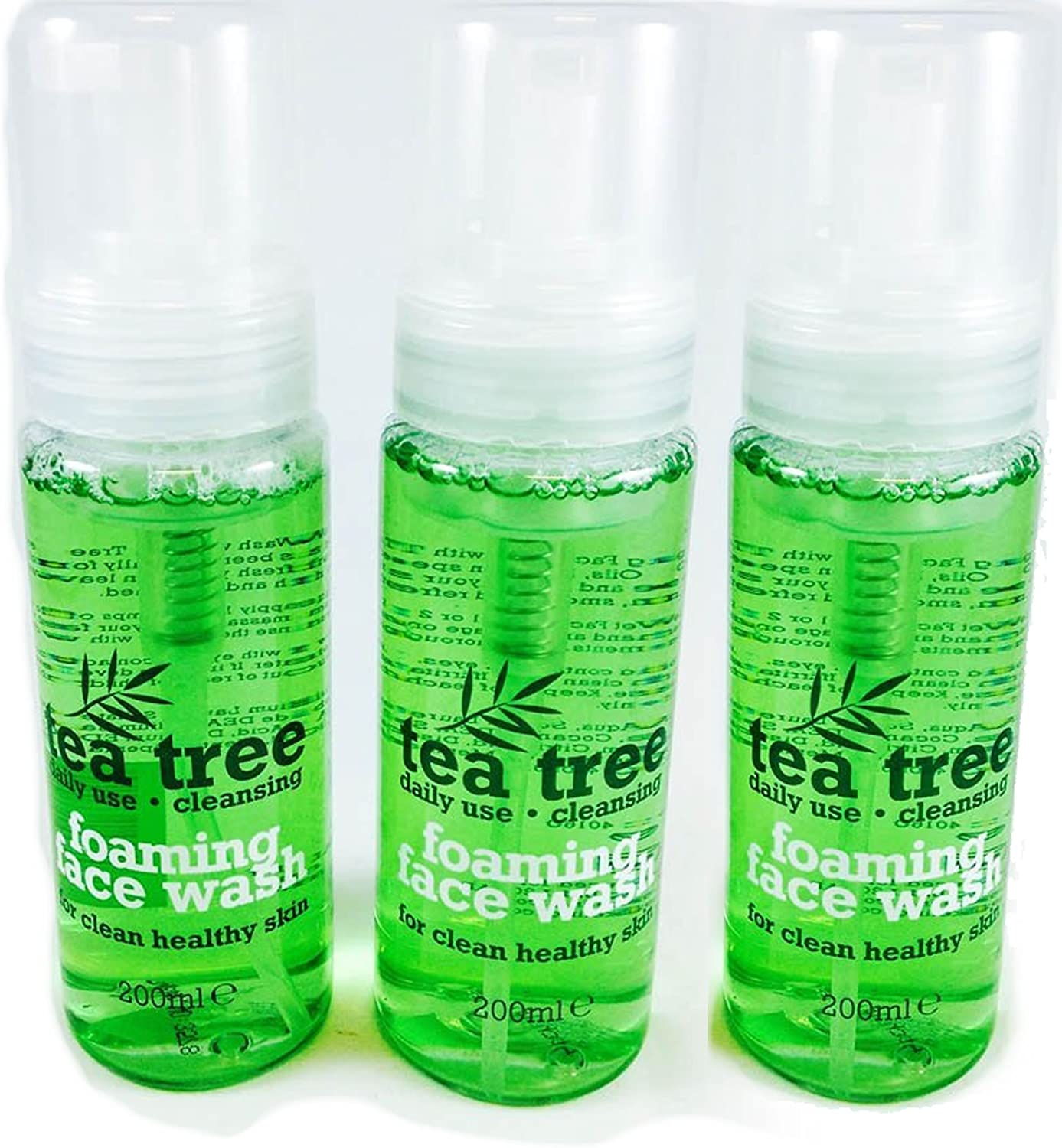 Tea Tree Foaming Face Wash 200ml (Pack of 3)