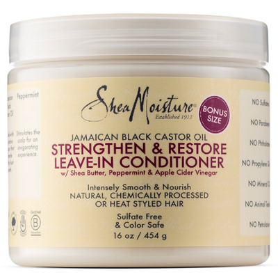 Shea Moisture Jamaican Black Castor Oil Strengthen/Grow and Restore Leave-In Conditioner 454g