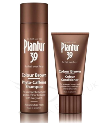 Plantur 39 Phyto Caffeine Shampoo and Conditioner Colour Brown( 250ml and 150ml )