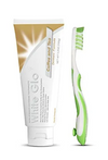 White Glo Premium Coffee & Tea Drinkers Formula Intense Extra Whitening Toothpaste & Toothbrush 100ML