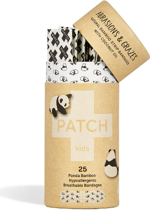 Patch Bamboo Plasters for Kids with Coconut Oil 25 Patches