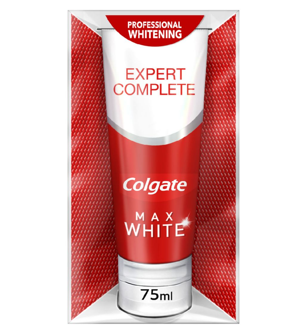Colgate Max White Expert Complete Whitening Toothpaste 75ml