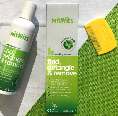 NitWits Head Lice Combing Solution, 220ml