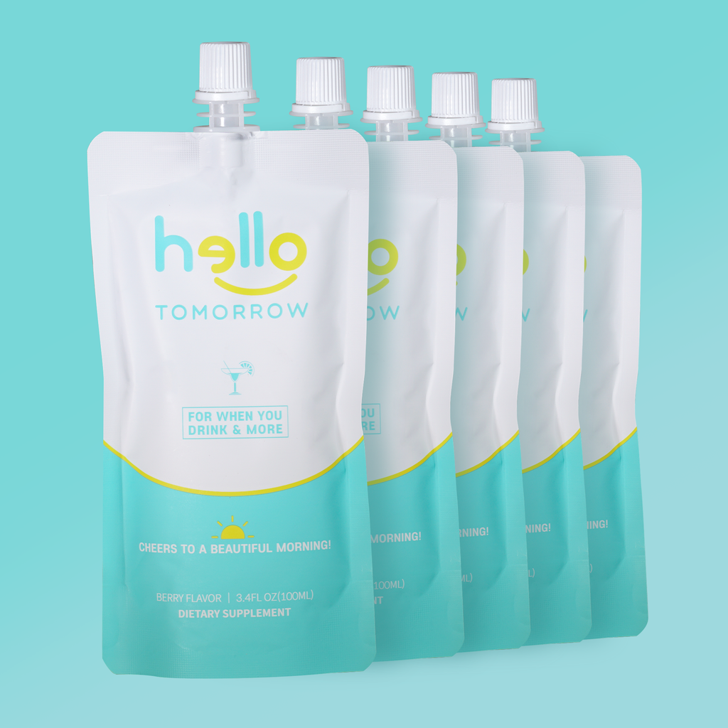 Drink Hello Tomorrow - 12 Pouches