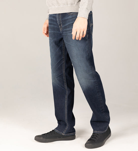 Grayson easy fit straight leg - Indigo
