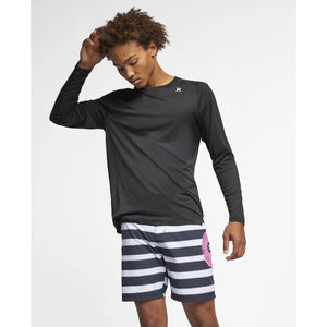 HURLEY QUICK DRY Rash Long Sleeve ( 3 colours)