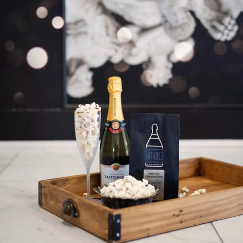 Pop the Champagne (100g)  InfusedGourmet Popcorn