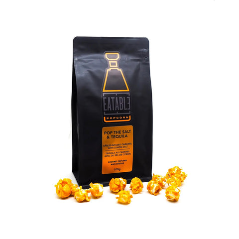 Pop the Salt and Tequila (100g) Infused Gourmet Popcorn