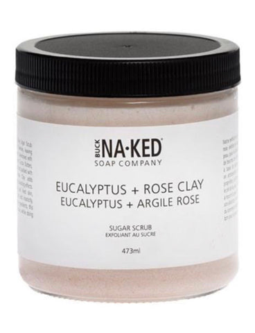 EUCALYPTUS + ROSE CLAY sugar scrub