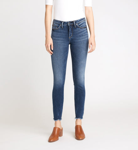 MOST WANTED MID RISE SKINNY JEANS