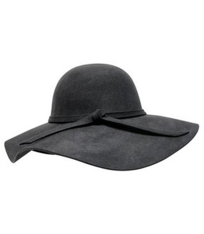 Charcoal Floppy Fall Hat- One Size