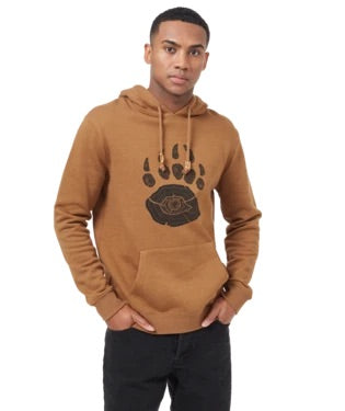 Bear Claw Classic Hoodie- Rubber Brown