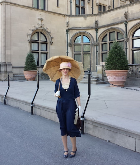 Liza at Biltmore for Dressing Downton
