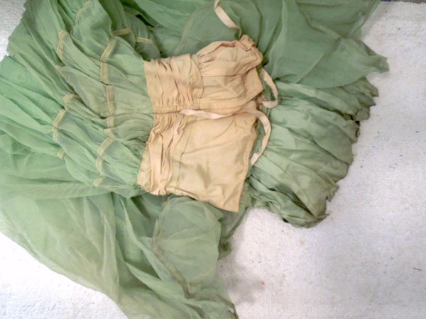 All Washed Up: Salvaging the Green Dress