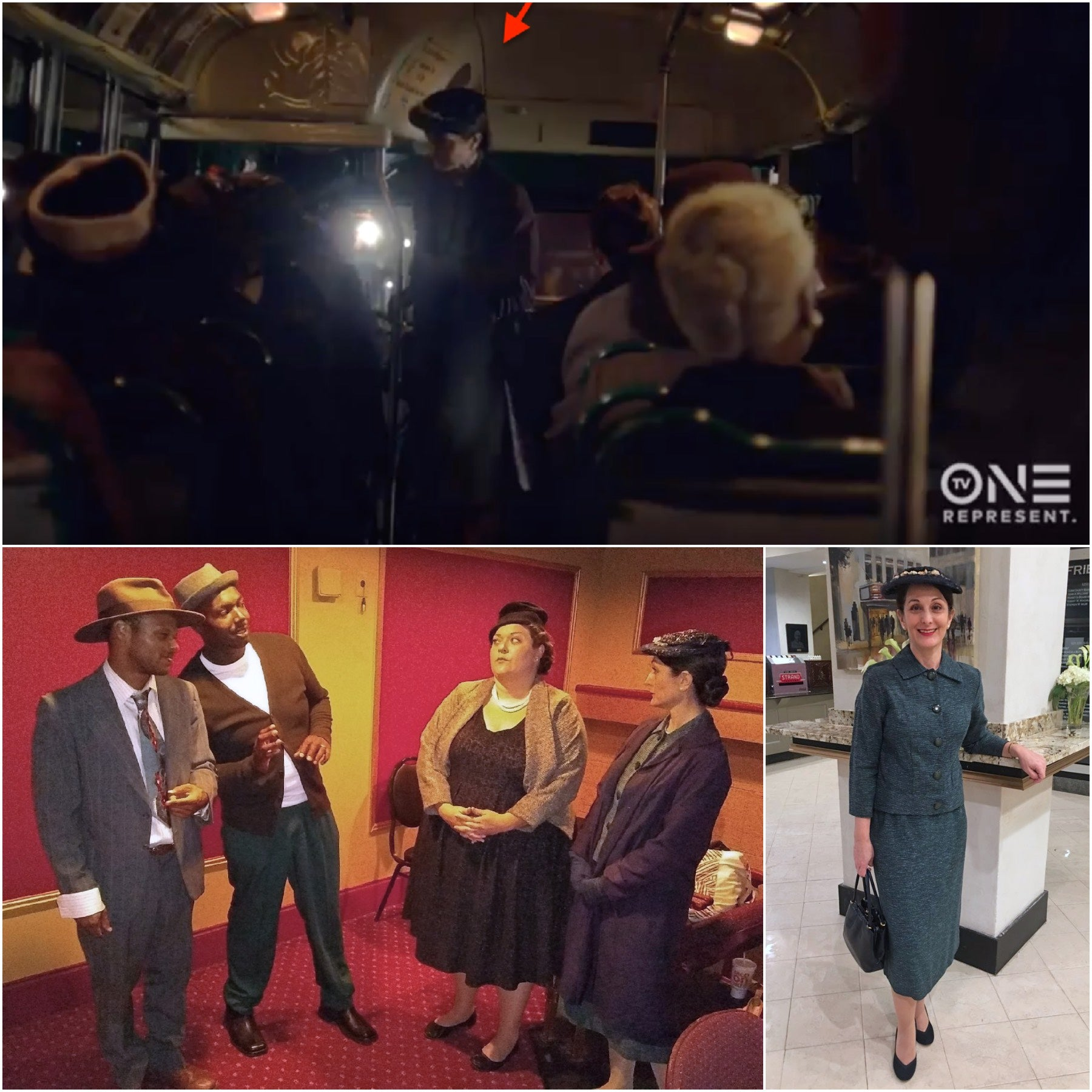Behind the Movement (Rosa Parks movie for TV One)