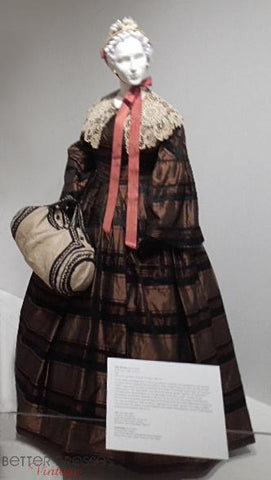 1860s Plaid Dress & Duffle at Mint Museum