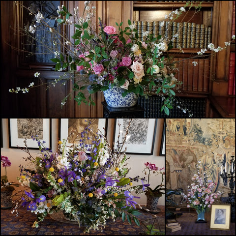 floral arrangements at Biltmore