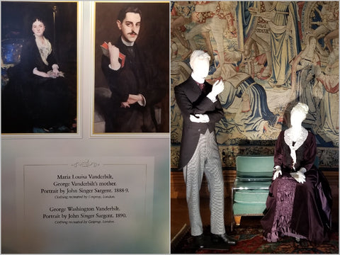 John Singer Sargent portraits brought to life by Cosprop at Biltmore.
