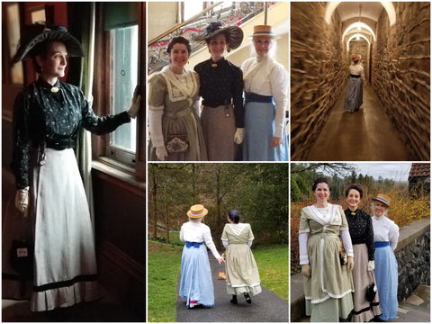 The Atlanta Time Travelers at Biltmore Estate