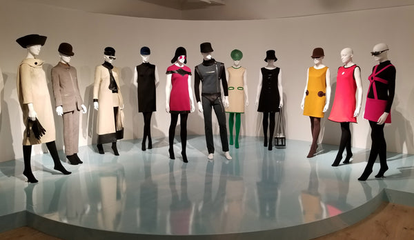1st display at the Pierre Cardin exhibit