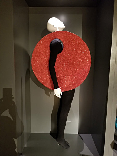 Circular purse by Pierre Cardin at SCADFash
