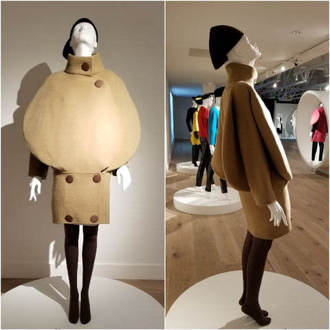 Pierre Cardin 1968 Bubble Coat at SCADFash
