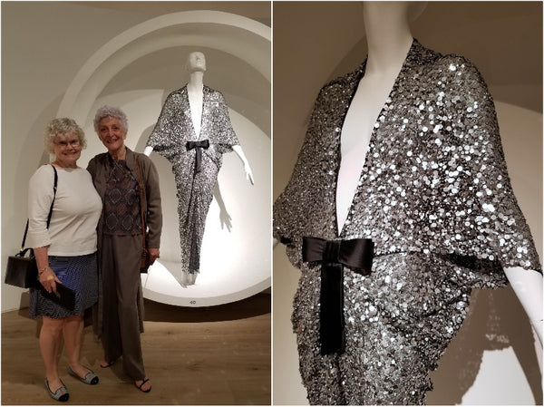Favorite sequined dress from PIerre Cardin at SCADFash