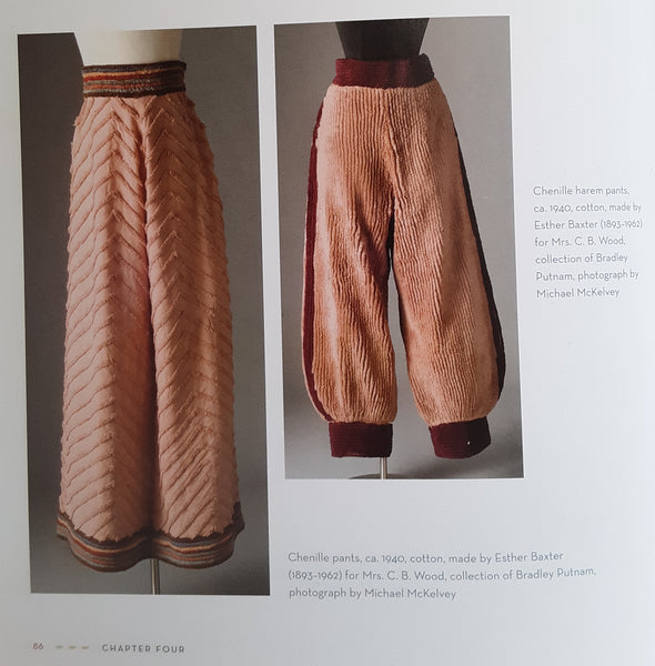Chenille trousers in Callahan's book.