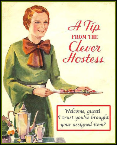 Clever hostess