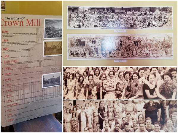 Dalton's Crown Mill history and workers.