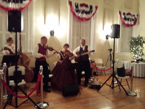 live musicians at ball