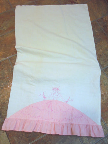 my vintage southern belle pillowcase