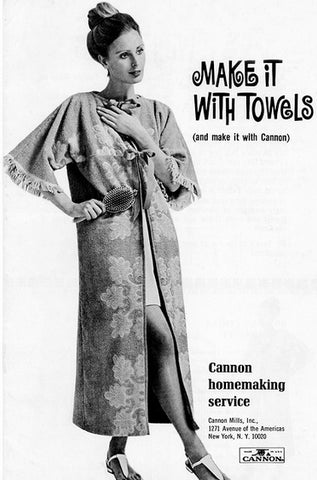Make It With Towels - Canon Free Pattern