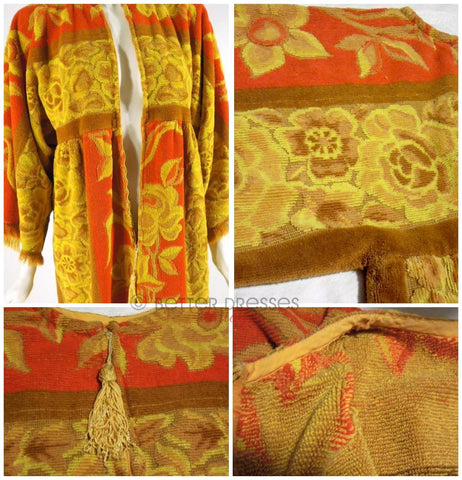 Towel Robe Details at Better Dresses Vintage