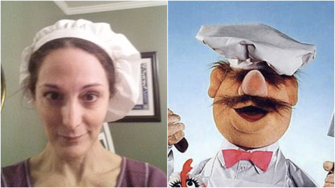My stint as the Swedish Chef