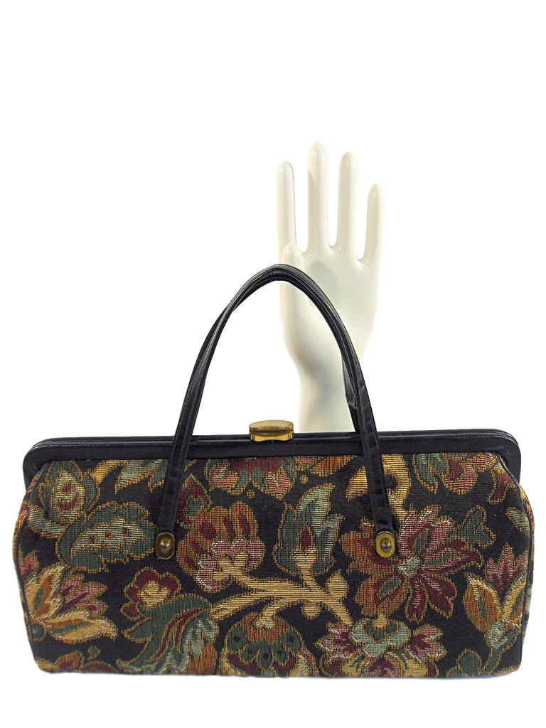 50s/60s Tapestry Frame Purse