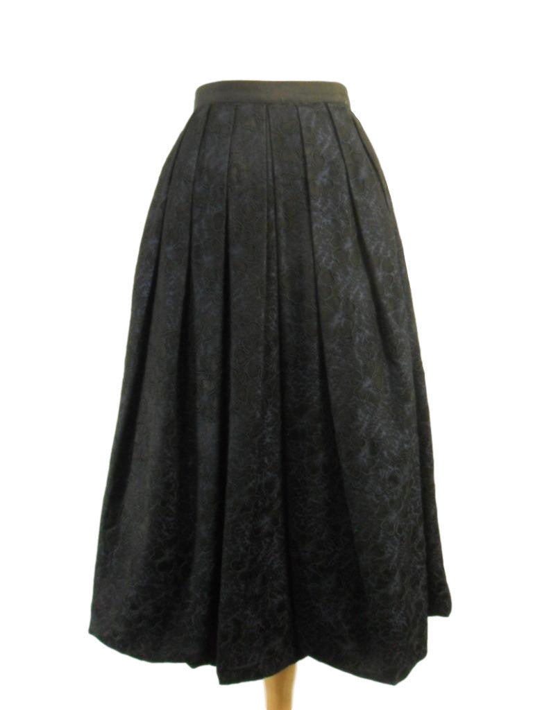 50s brocade bubble skirt