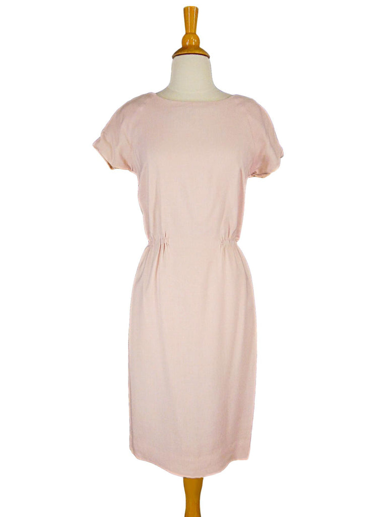 50s Pink Sheath Dress