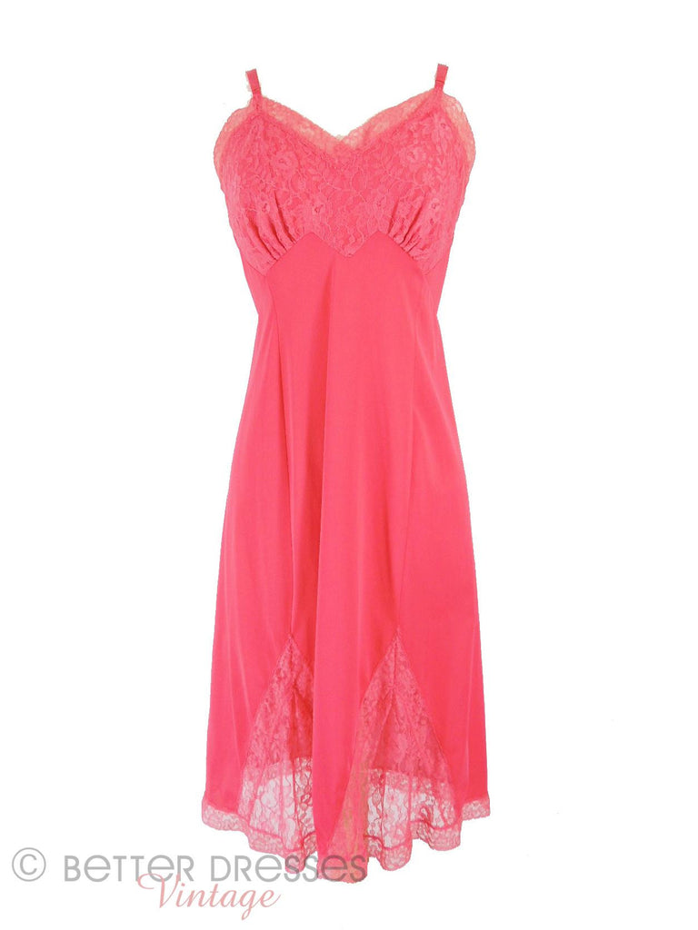 50s/60s Luxite Pink Full Slip