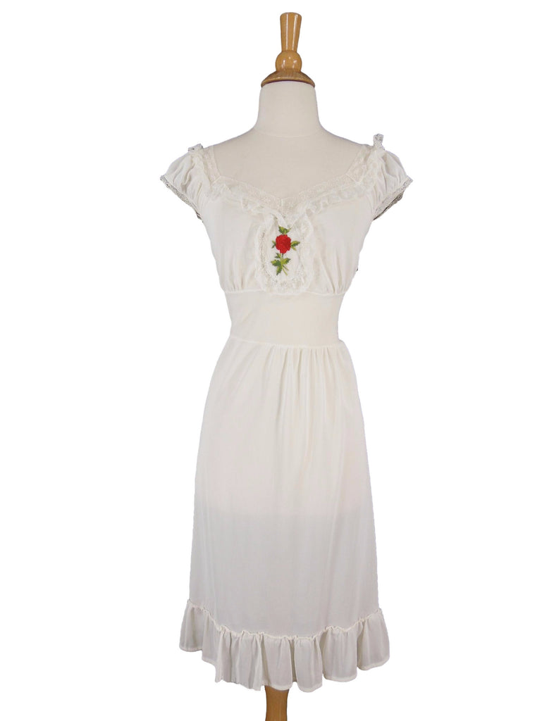 50s Nightie With Rose